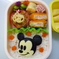 11月2日 簡単ミッキーマウス弁当 by カオリさん