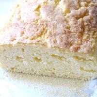 ケーキのようなホットケーキミックスでレモンバターバウンドケーキ♪