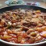 チャグリチゲ♪豚肉とじゃがいものコチュジャン炒め煮。韓国の人気レシピ動画も