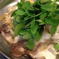 ブーケガルニのスープで 「蕪のみぞれ鍋」。 by イェジンさん