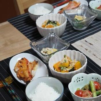 今夜は野菜たっぷりの和食です♪