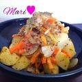 【レンジで簡単】じゃがいもの♡粒マスタードオイル煮 by Mariさん