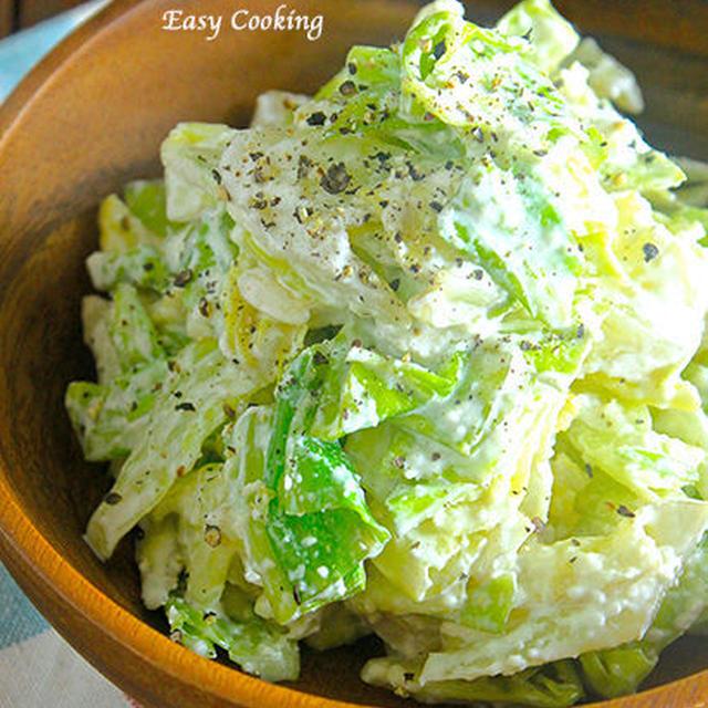 レンジで一発!野菜がモリモリ食べれちゃう♡『キャベツのマヨチーズ和え』《簡単*節約*副菜*お弁当》