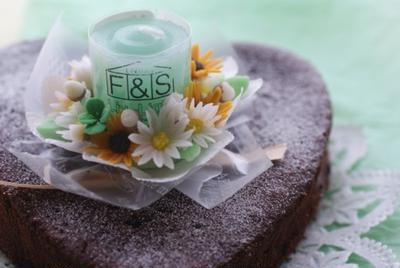 月の花シリーズ~5月のケーキ~