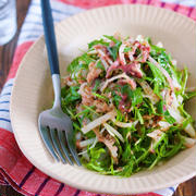 年末年始の疲れた胃腸に♪『大根と水菜のシャキシャキ♡梅ツナおかかサラダ』