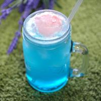 【レシピ】カキ氷のシロップで簡単☆夏休みのクリームソーダ(可愛いタイプ)