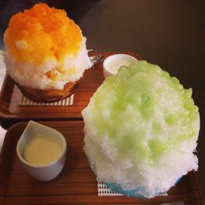 湘南エリアNo.1の人気かき氷店。<br>生メロンなど、季節の果物のジューシーな風味が、そのままダイ...