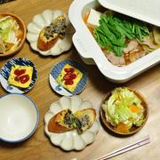 ≪レシピ≫白菜漬けの絶品お鍋と、昨日と一昨日の晩ごはん
