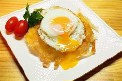 すこーしオシャレな朝食-ポテトガレット
