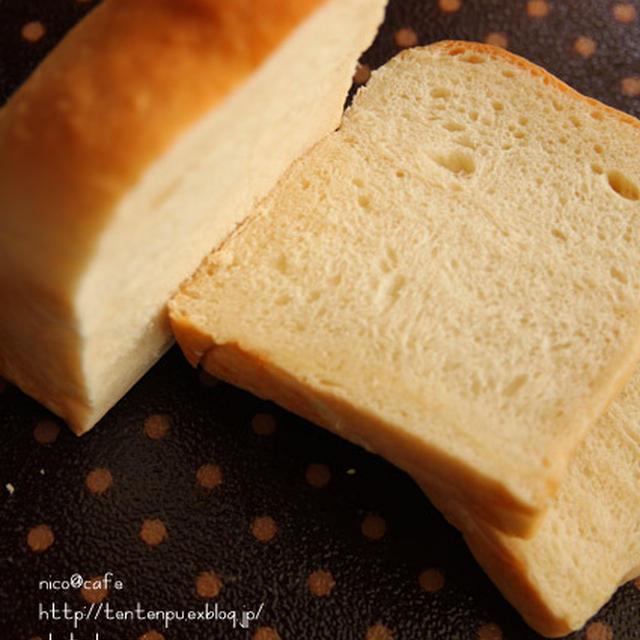 ミルク食パン☆バジルツナチーズトースト