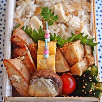 タケノコご飯弁当