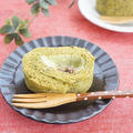 米粉の抹茶ロールケーキ~抹茶クリーム~