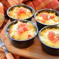エキス増量中!まるでスープの肉汁タコス風オーブンチーズ(糖質6.5g)