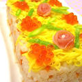 クリスマスケーキ寿司♪クリスマスに作りたい簡単おもてなしレシピ