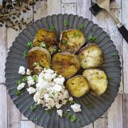 簡単 お野菜レシピ|伝統野菜|とろフワ食感|【佐土原ナスのガーリックバターステーキ】