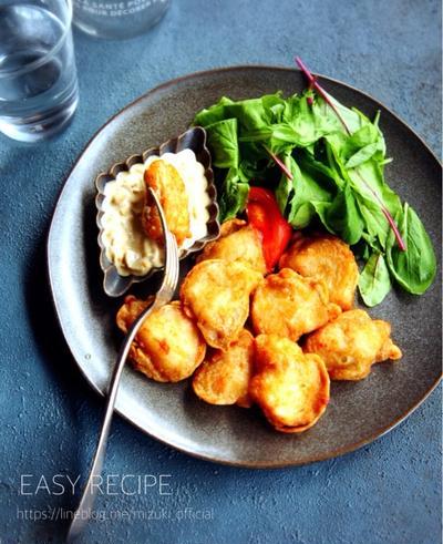 ♡揚げずに簡単♡白身魚の唐揚げwith和風タルタル♡【#時短#卵#魚#タラ】