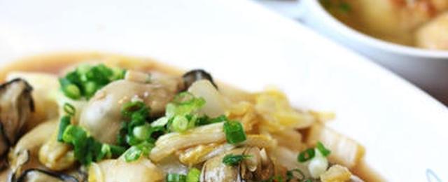 うまみ満点濃厚仕上げ♪牡蠣×白菜の冬おかず