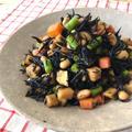 【お弁当や作り置きに】骨粗しょう症予防に☆春の五目ひじき煮♡レシピ