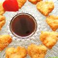 バレンタイン♪カラメル生醤油オレンジ&チキンナゲット風
