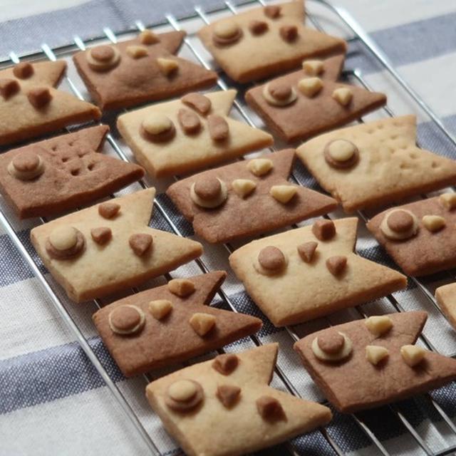 砂糖&バター控えめ♪型抜きクッキー