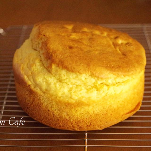 ホットケーキミックスと2つの材料でつくる、泡立て不要&混ぜるだけ!超簡単スポンジケーキ(クリスマスにも♪)☆「ケーキのようなホットケーキミックス」で作る忙しいわたしへのご褒美ホットケーキレシピ(その3)