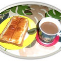 忙しい朝の定番ハム&チーズトースト