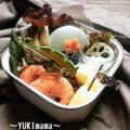 海老のトマトクリームソース煮~パパのお弁当~パスタソース by YUKImamaさん