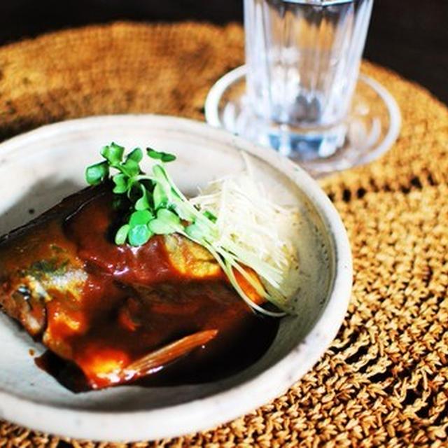 カレー風味サバ味噌