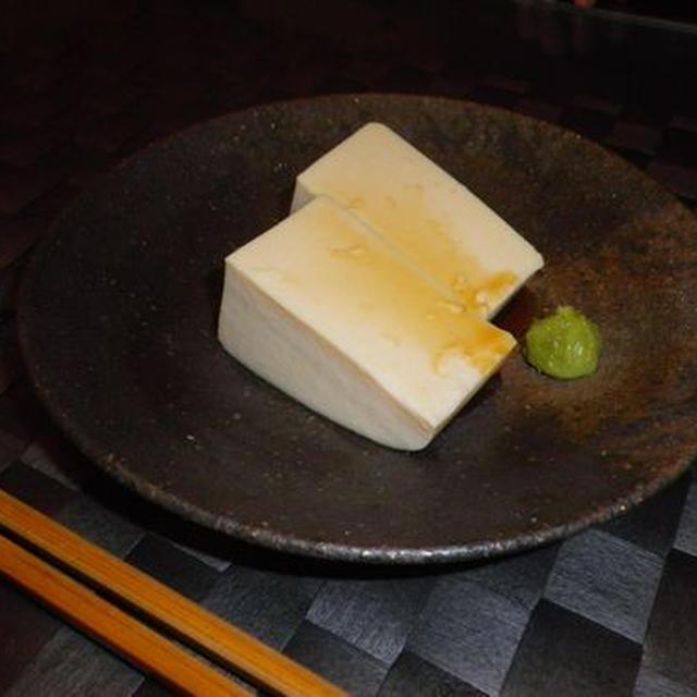 濃厚!豆乳ごま豆腐(レシピ)
