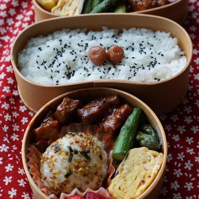 ご飯に合う☆豚ロース肉ケチャップ炒め弁当