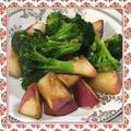 赤カブとブロッコリーのガーリック炒め(レシピ付)