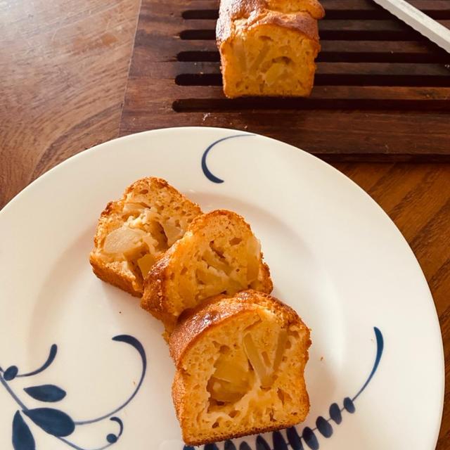 林檎スリムパウンドケーキ 目分量可