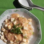 明太豆腐丼