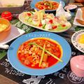ラタトゥイユ風トマトスープパスタ(レシピ)