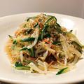 めんつゆとポン酢だけ もやしときゅうりの中華サラダ #カニカマ
