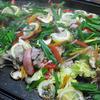 豚肉と野菜のレモン蒸ししゃぶ