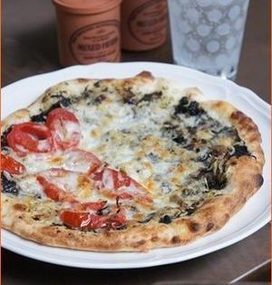 しらすのピザ。~海苔を使った和風ピザソースのレシピ~