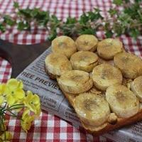 簡単朝ゴパン、バナナシナモントースト