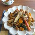 ごはんがすすむ野菜料理☆かぼちゃときのこのバタポンソテー