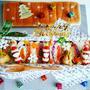 食パン1本deクリスマスわんぱくサンド♪