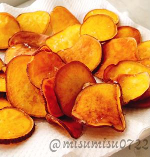 パリパリ☆ほんのり甘い安納芋のおさつチップス