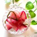 赤蕪と塩昆布で簡単ピクルス