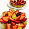 苺と葡萄の ☆ カスタードクリームタルト by まろっち☆みえーさん