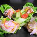 長芋と貝柱の和風ドレッシングサラダ