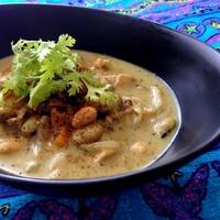 フライパンに、どんどん加えるだけ♪♪『鶏肉と大豆のココナッツスープカレー』