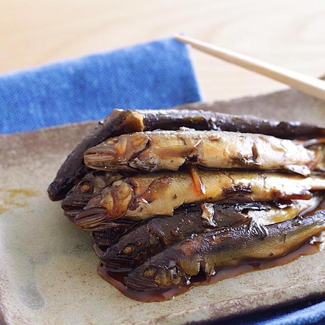 さっぱり食べられる♡鮎の紅茶甘露煮