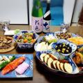 【家飲み/日本酒】退院祝い& 誕生日会 に 季節外れのおせち料理♡ 大山 十水 特別純米「極」限定品