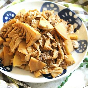【簡単!作り置き】今が旬のタケノコを美味しく食べよう♪筍と油揚げの旨煮