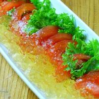 ブリタのおいしいお水を使ってトマトの冷製カルパッチョ!