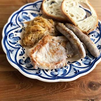 ★レシピ★ 豚肉とザワークラウトの煮込み『シュラハトプラッテ』